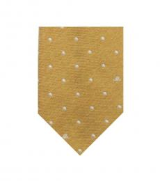 Moschino Golden Dotted Tie