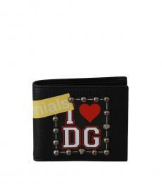 Dolce & Gabbana Black Studs Wallet
