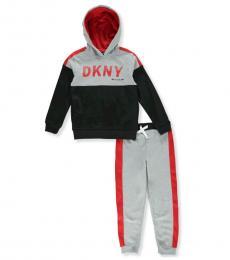 DKNY 2 Piece Sweatsuit Set (Little Boys)