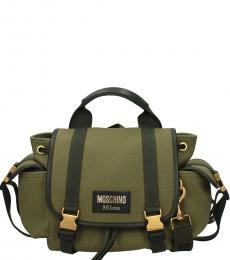 Green Vintage Medium Backpack