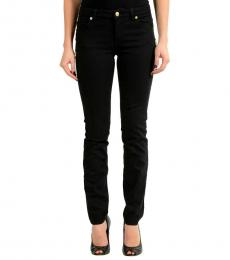 Versace Jeans Black Pins Decorated Slim Fit Jeans