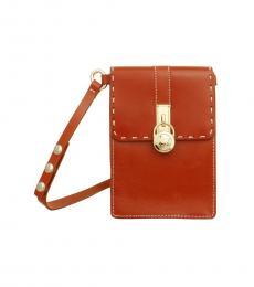 Michael Kors Orange Belt Belt Bag