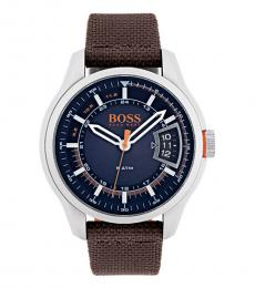 Hugo Boss Brown Sports Casual Watch