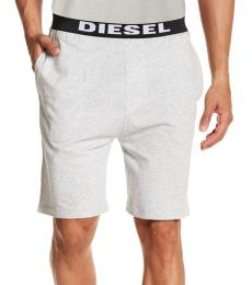 Diesel Light Grey Tom Cotton Pajama Shorts