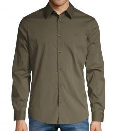 Calvin Klein Hunter Slim-Fit Long-Sleeve Shirt