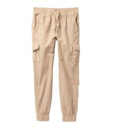 7 For All Mankind Boys Stone Cargo Pocket Joggers