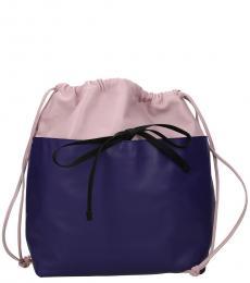 Marni Pink/Violet Drawstring Large Backpack