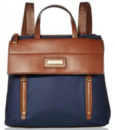 Calvin Klein Blue Belfast Medium Backpack