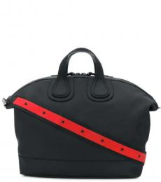 Givenchy Black Solid Large Duffle Bag