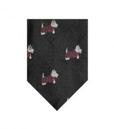Black-Red Modish Tie