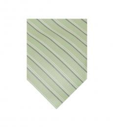 Mint Essential Satin Stripe Tie