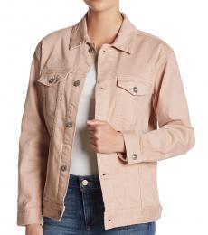 Light Pink Nancy Denim Jacket