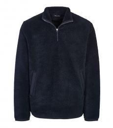 Fred Perry Dark Blue Half Zip Sweatshirt