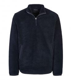 Fred Perry Dark Blue Half Zip Sweatshirt