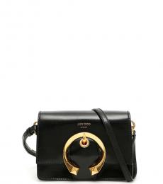 Jimmy Choo Black Madeline Small Crossbody