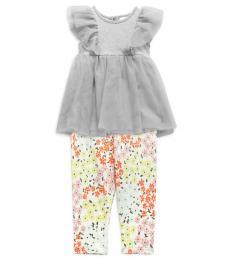BCBGirls 2 Piece Top/Pants Set (Little Girls)