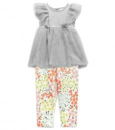 BCBGirls 2 Piece Top/Pants Set (Little Girls)