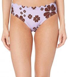 Frozen Lilac Hipster Bikini Bottoms