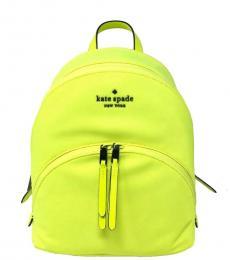 Kate Spade Radiant Yellow Karissa Medium Backpack