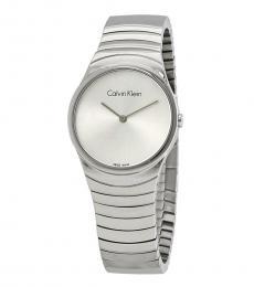 Silver Whirl Modish Watch