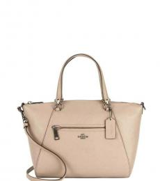 Taupe Prairie Small Satchel