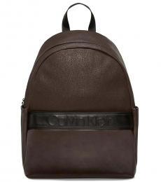 Calvin Klein Ash Brown Bartley Large Backpack