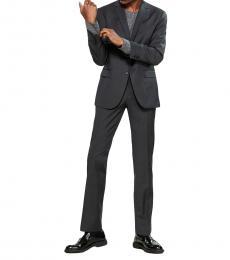 Theory Dark Grey Two-Piece Mero Suit