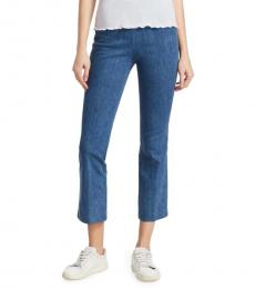 Rag And Bone Blue Cropped Jeans