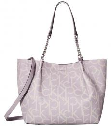 Calvin Klein Dusty Lilac Reversible Large Tote