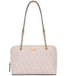 DKNY Hemp/Sand Gramercy Large Shoulder Bag