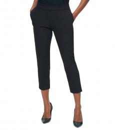 Calvin Klein Black X-Fit Pull-On Pants