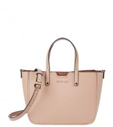 Calvin Klein Pale Rose Dilan Novelty Small Satchel