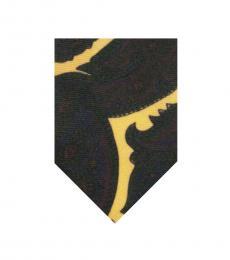 Green Paisley Wool Tie