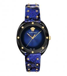 Versace Blue Shadov Watch