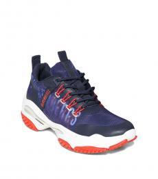 Bikkembergs Blue Pernel Sneakers