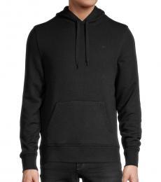Michael Kors Black Regular-Fit Cotton Hoodie