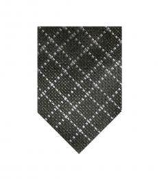 Dark Olive Textured Tie