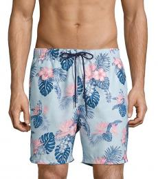 Tommy Bahama Aqua Casa Rosa Swim Trunks