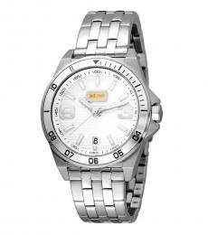 Just Cavalli Silver Sport Luminous Watch