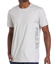 Ralph Lauren Light Grey Short Sleeve Logo Tee