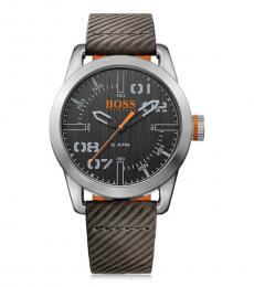 Hugo Boss Black Grey Ritzy Oslo Time Piece