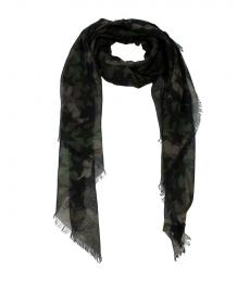 Camouflage Green Fabric Scarf