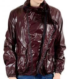 Cherry Hooded Windbreaker Jacket