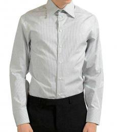 Multicolor Striped Dress Shirt