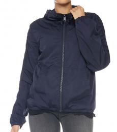 Dark Blue Solid Jacket