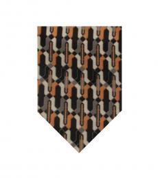 Dolce & Gabbana Orange Well Tailored Tie