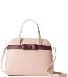 Kate Spade Rosy Cheeks/Cherrywood Kirk Park Julita Medium Satchel