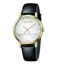 Black-Gold Established Watch
