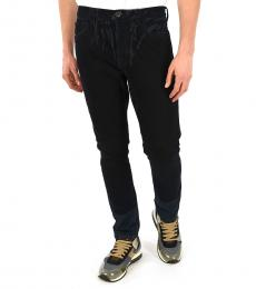 Prada Black Printed Loose Fit Jeans