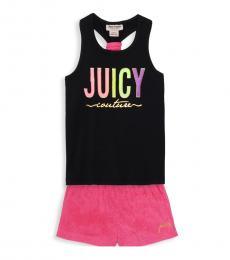 Juicy Couture 2 Piece Tank/Shorts Set (Little Girls)